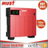 Sistema para casa solar de alta freqüência modificado série de onda de seno PV1100 PWM