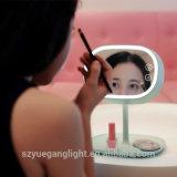 Lâmpada de tabela recarregável do espelho cosmético Rotatable o mais atrasado do estilo 2017