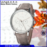 Usine de quartz occasionnel Mesdames fashion montre-bracelet (Wy-081E)