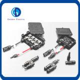 160W IP65 делают миниую распределительную коробку водостотьким с 3 диодами (10SQ050), разъем Mc4 PV солнечную (Female+male), кабель 90cm