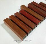 Profil enduit en bois d'alliage extrusion en aluminium/en aluminium