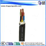 Высокое напряжение короткого замыкания XLPE алюминиевых пламенно/бронированные кабель питания