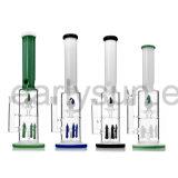 Tubo di acqua di fumo di vetro all'ingrosso con la cupola Splashguard (ES-GB-126)