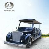 Тележка гольфа пассажирского автомобиля самоката 12 Seater электрическая с высоким качеством