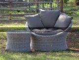 Outsunny Canapé canapé en rotin canapé chaises de jardin de loisirs de plein air