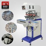 Os fabricantes de máquinas En C160/4s Full automatic almofada de 4 Cores Impressora para a tampa do frasco de plástico
