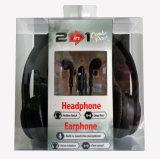타전된 이어폰 및 헤드폰을%s 결합된 포장
