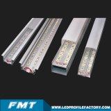 Manica di alluminio di profilo del LED per la barra chiara del LED