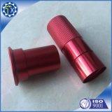 Colore rosso su ordinazione anodizzato, boccola di alluminio zigrinata della fabbrica della Cina da vendere