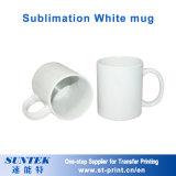 Tazza di ceramica della pressa di calore delle tazze 11oz degli animali bianchi in bianco di sublimazione
