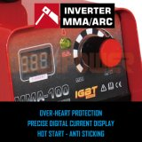 Ce approuvé MMA 200un DC INVERTER soudeur à arc Machine de soudage
