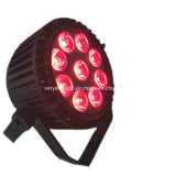 1つの屋外の同価ライトに付き高品質LED 9X12W RGBWA 5つ