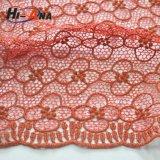 15 лет ткани шнурка Yiwu опыта фабрики химически