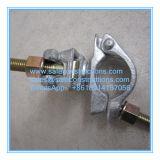 Acoplador de tubos de seguro andamio duradera para la construcción