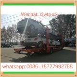 FAWのブランド3の車軸5units自動車運搬船のトラック