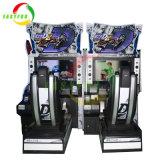 La motion initiale de l'intérieur D8 Console de Jeu Voiture de course arcade