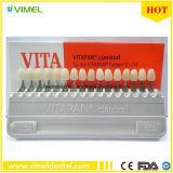 Zahnmedizinisches Geräten-Zahn-Kalktünche-Porzellan Vita Wanne klassisches 16color