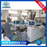 Máquina gemela cónica del estirador de tornillo de la alta calidad para el tubo del plástico del PVC