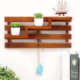 포도 수확 다중목적 선반 벽 Hangings 거실 다층 저장 선반 창조적인 가정 훈장