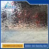 Строительные материалы декоративной плиты нержавеющей стали пульсации воды цилиндрические
