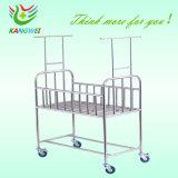 &Trolley da base de bebê do aço inoxidável (SLV-B4202S)