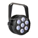 Vello LED NENNWERT kann Stadiums-Beleuchtung (LED-Elf ColorPar7) waschen