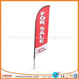 魅力的な昇進ポリエステル上陸海岸表示旗