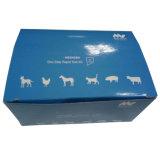 Le matériau estampé petite par coutume de panneau en ivoire de boîte en carton avec conçoivent en fonction du client