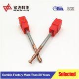 2-28mm 4 flûtes tige droite la puissance des outils de découpe CNC forets HSS fin Mills