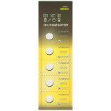 (CR1216) батарея клетки кнопки лития 3V с BSCI для обтекателя втулки непоседы