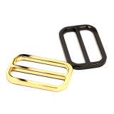 A curvatura quente do slider da barra do centro da liga do zinco do metal da venda para o saco parte os acessórios dos bens do couro de sapatas da curvatura de correia (YK901)