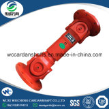 Eje de la junta universal del diseño de la alta calidad W51.5 L=870 SWC para el motor de petróleo usado en maquinaria del aparejo de la perforación petrolífera