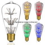 ST64 kleurrijke energie - besparings van de LEIDENE het licht lampbol met UL goedkeurings vrije steekproef