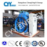 Zr145 tre compressore d'aria senza olio del pistone della fase del Rank cinque