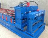 Heiße Verkaufs-Metalldach-Fliese walzen die Formung der Maschine kalt