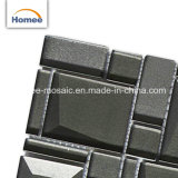 内部のための装飾的な灰色のBelveledのガラスモザイク・タイル