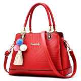 De Douane Popupar Pu Leaher van de manier Dame Handbag Tote Shoulder Bag