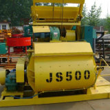 30 Cubic/H Kapazität mit DoppelBetonmischer der welle-Js500