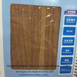 Papel de aluminio de madera del grano de Toctona Grandis