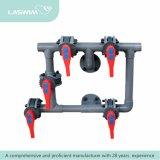 A válvula quente de Multiport da venda para a piscina Lado-Monta o filtro