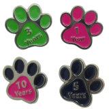 Tag de venda quente do animal de estimação do metal para o gato com Glitter
