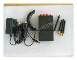Emittente di disturbo portatile del cellulare che ostruisce WiFi, emittente di disturbo senza fili della macchina fotografica di Bluetooth delle 4 fasce