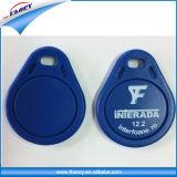 voor zeer belangrijk-Ketting RFID de Zonder contact van het Toegangsbeheer van de Deur Zeer belangrijke FOB-