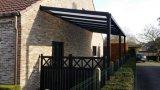 Arcos, Arbours, pérgolas y Tipo de puente de WPC pérgola cubierta decorativa