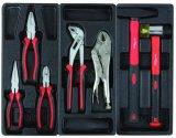 6 Gavetas Carrinho de profissionais do conjunto de ferramentas com bandeja de plástico da embalagem