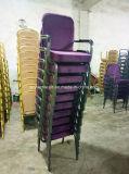 팔걸이를 가진 쌓을수 있는 강당 교회 의자