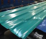 precio de fábrica de hierro de alta calidad PPGI hoja trapezoidal de techo