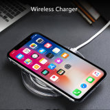 Qi iPhone x iPhone 8 Samsung S8를 위한 무선 비용을 부과 패드 빨리 무선 충전기