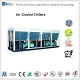 L'air à l'eau avec compresseur à vis du refroidisseur