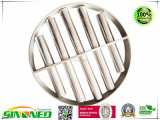 Griglie magnetiche rotonde del filtro da acqua dell'acciaio inossidabile